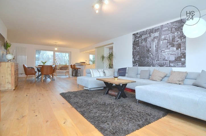Exclusively furnished apartment with Wi-Fi, 2 balconies and garage in Nuremberg Woehrd