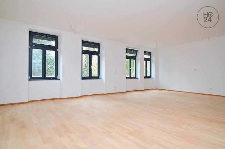 Erstbezug: Unmöblierte, sanierte Wohnung mit Balkon und Einbauküche in Fürth
