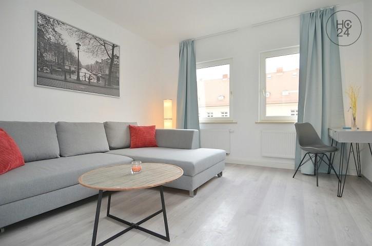 Modern furnished 2-room apartment in Nuremberg/St.-Johannis
