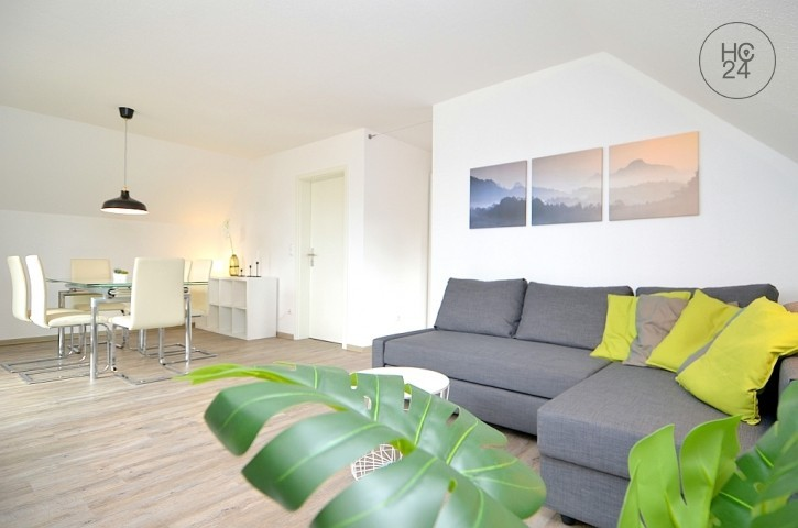 Nicely furnished and top renovated flat with Wi-Fi, balcony and parking space in Erlangen