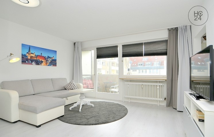 Nicely furnished apartment with Wi-Fi and balcony in St.-Johannis