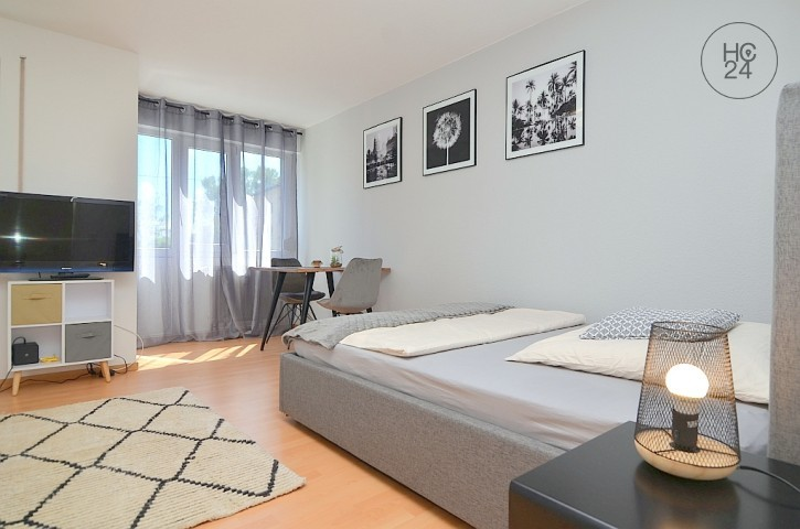 Modernly furnished apartment with Wi-Fi and parking space in central location in Fuerth