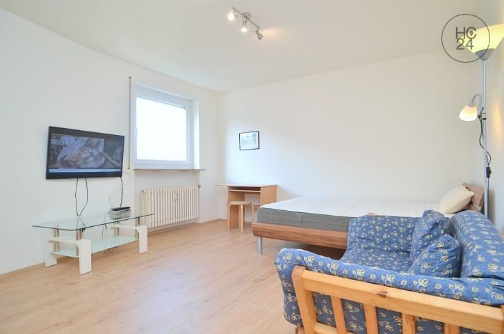 Modern, furnished 1-room apartment in Nuremberg/St.Johannis