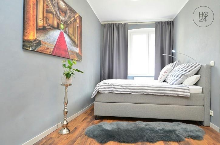 Tastefully furnished 2-room-apartment with Wi-Fi in Nuremberg/ Galgenhof