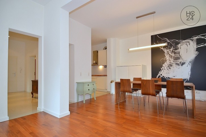 Modernly and high-quality furnished apartment in Stuttgart West