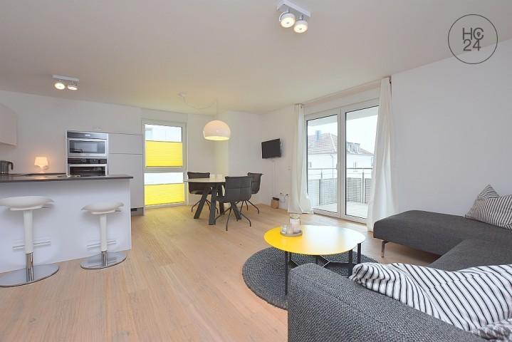 Exklusive, modern und top möblierte Neubauwohnung in Stuttgart Nord