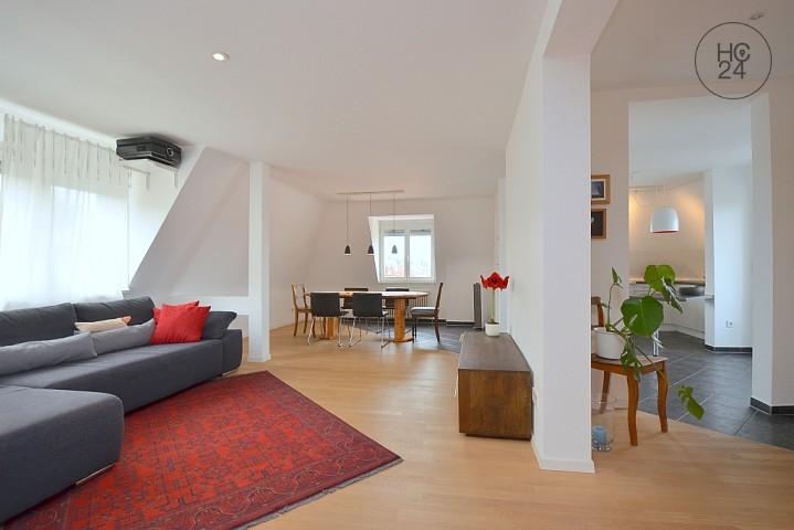 Tolle Maisonette Wohnung in beliebter Lage in Stuttgart Mitte/Süd zur Zwischenmiete