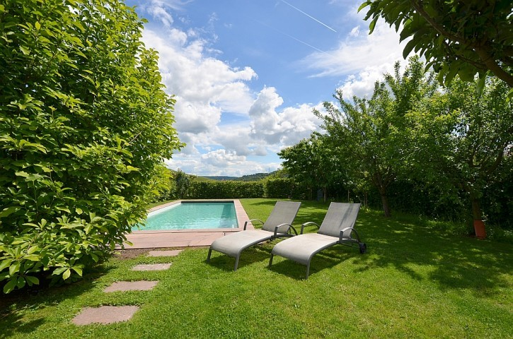 Fantastic, very beautifully furnished house with pool at the vineyards in Weinstadt