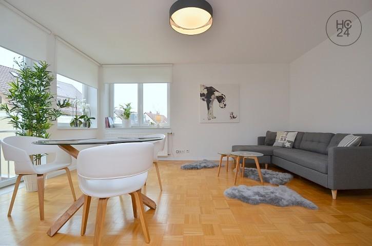 Wunderschöne und neu möblierte Wohnung mit Freisitz in toller Lage in Degerloch