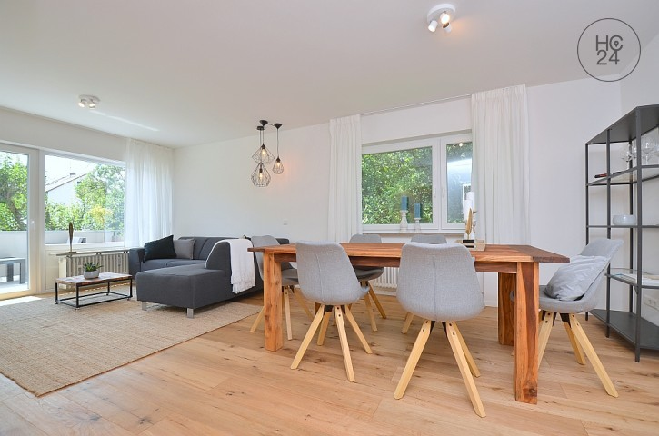 First occupation: Renovated, beautifully furnished apartment in Stuttgart Feuerbach