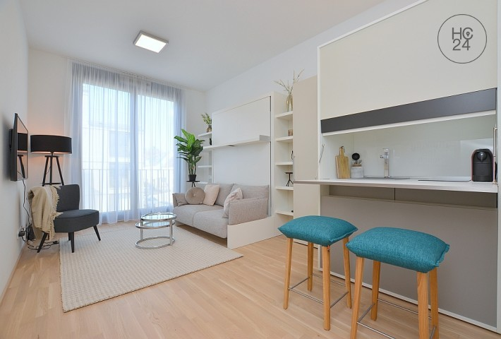 New furnished micro apartment in a great new building in Ludwigsburg