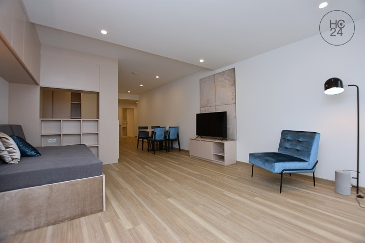 First-time occupancy: Beautiful, high-quality furnished apartment