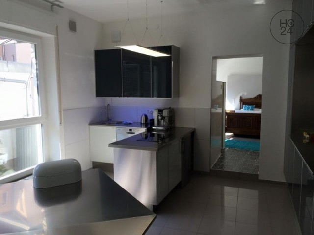 furnished 2-room apartment in downtown Ulm