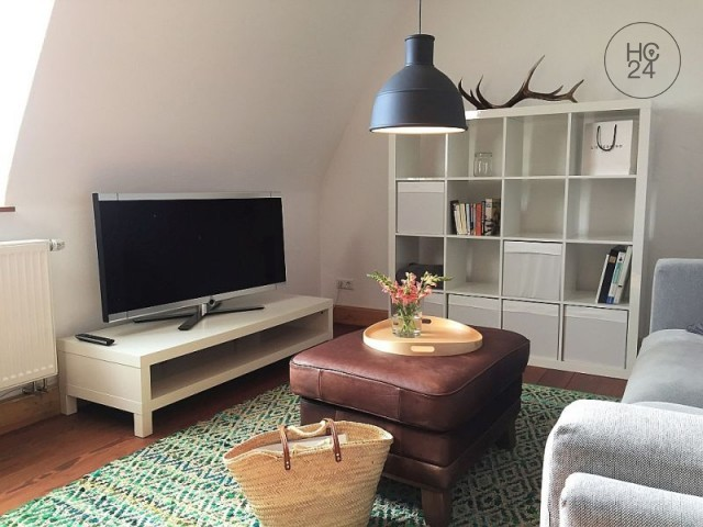 furnished, completely refurbished 3-room apartment in TOP location in Ulm