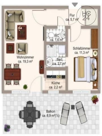 +++ neu möblierte Wohnung in München-Schwabing