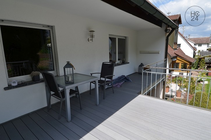 3 room apartment with large, sunny balcony in a quiet location in Blaustein/Arnegg.