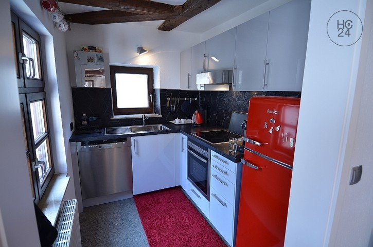 high-quality and lovingly furnished apartment in the heart of the Ulm Fischerviertel