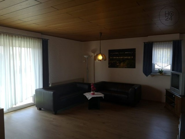 furnished 4-room apartment in Burlafingen
