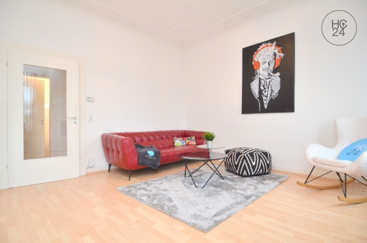 Umeblowane mieszkanie z 3 pokojami w Neu-Ulm