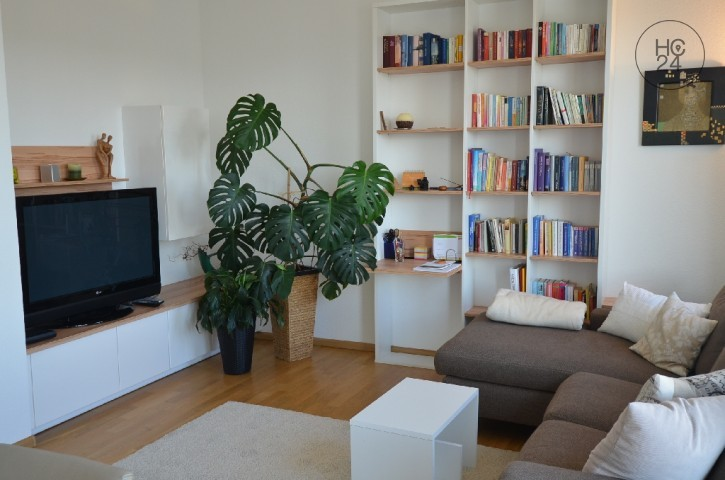 quietly located 2-room apartment at the attic level in Weil am Rhein-Friedlingen