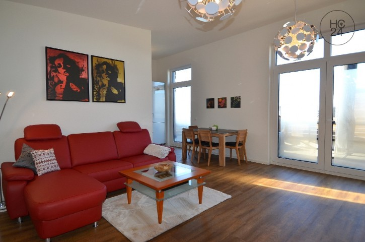 Exclusive 2-room apartment at the attic level with roof terrace in Grenzach-Wyhlen