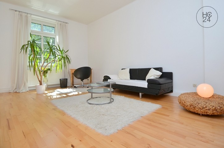 Furnished 2-room apartment with balcony, garage and Internet service in Wiesbaden