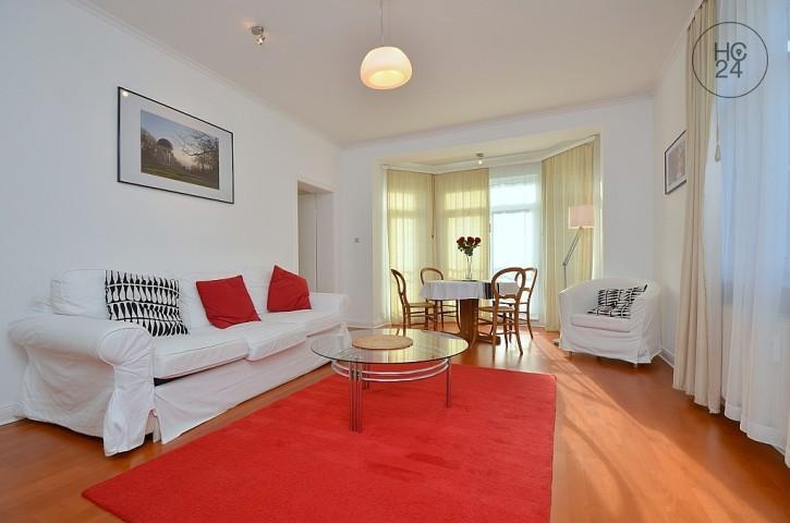 Möblierte 3-Zimmer Wohnung mit Balkon und W-Lan in Wiesbaden-Sonnenberg