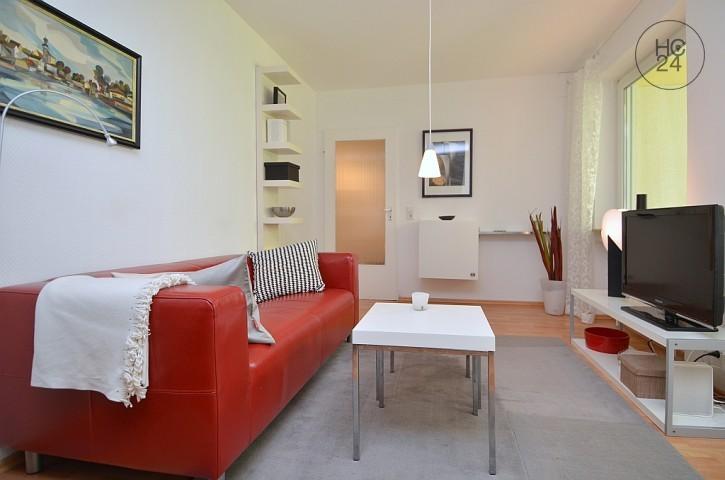 меблированная квартира с 1 комнатами в Wiesbaden-City