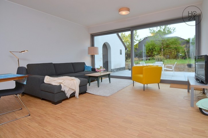 Furnished 3-room apartment in a refurbished building with garden, patio and WLAN in Mainz