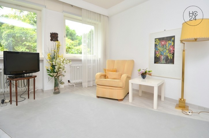 Furnished 2-room apartment with Internet service / W-Lan in Wiesbaden-City