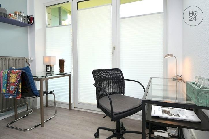 Möbliertes 1-Zimmer Apartment mit Balkon und PKW-Stellplatz in Mainz
