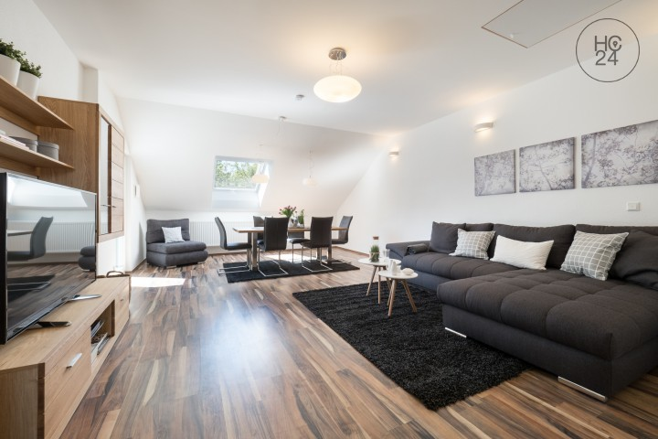 家具付き3部屋、MZ-Lerchenbergの住宅