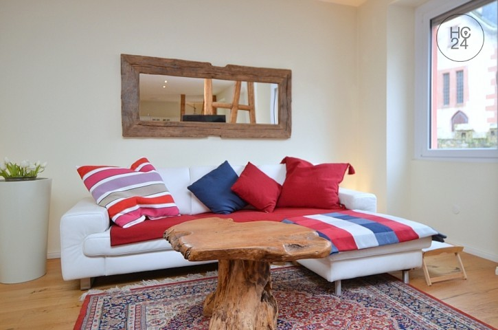 Furnished 2.5-room apartment with Internet, fireplace and cleaning service in Geisenheim