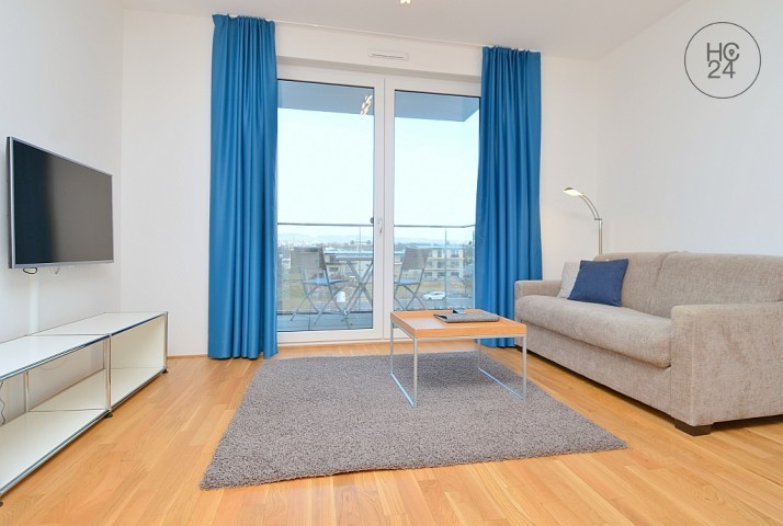 Elegant and high quality furnished apartment with balcony or terrace in Budenheim