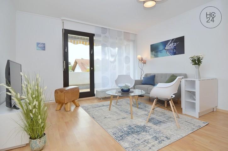 Umeblowane mieszkanie z 2 pokojami w Mainz-Finthen