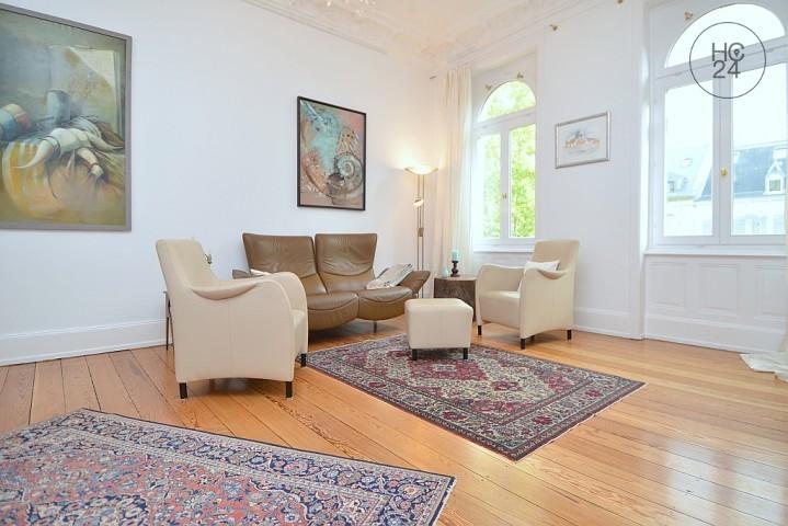 Umeblowane mieszkanie z 5 pokojami w Wiesbaden-City