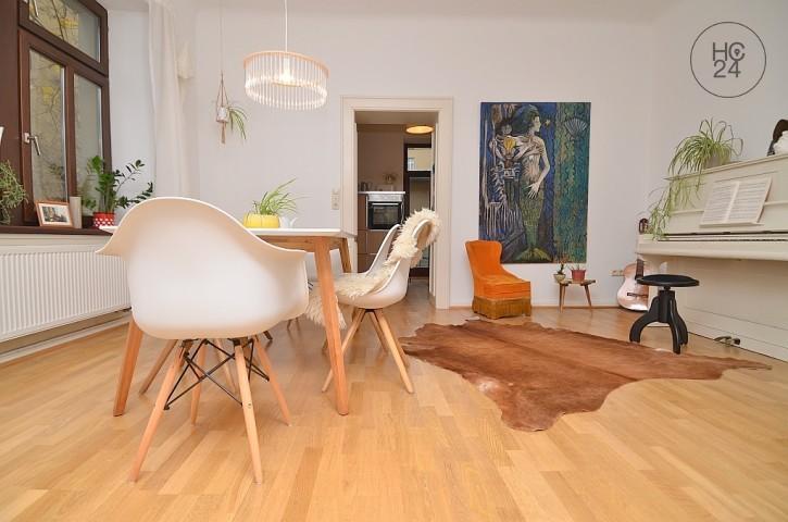 stilvoll möblierte Wohnung in Würzburg/Zellerau