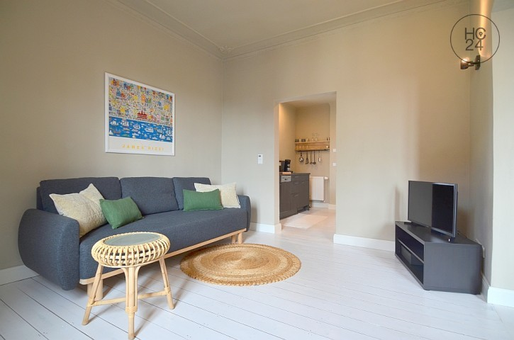 Umeblowane mieszkanie z 2 pokojami w Großostheim